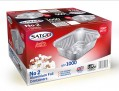 Satco No 2 Foil Containers
