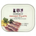 Cooks & Co Anchovy Fillets Tin