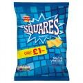 Walkers Squares Salt & Vinegar PM £1