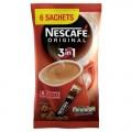 Nescafe Original 3 in 1 6 Sachets PM £1