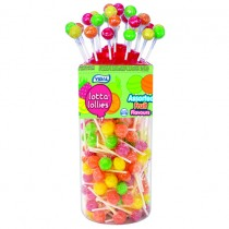 Vidal Lotta Assorted Fruit Lollies PM 5p