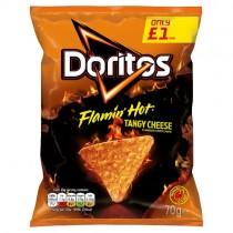 Doritos Flamin Hot Tangy Cheese PM £1