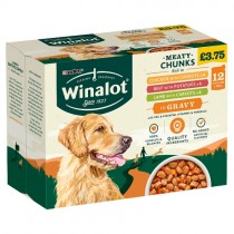 Winalot Meaty Chunks in Gravy PM £3.75