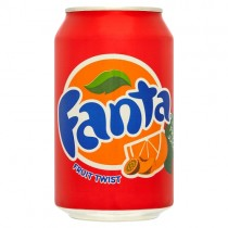 Fanta Fruit Twist 330ml PM 65p
