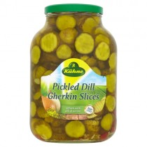 Kuhne Pickled Dill Gherkin Slices
