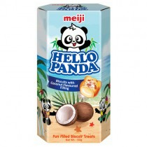 Hello Panda Coconut Filled Biscuits