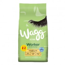 Wagg Worker Chicken & Veg PM £2