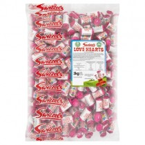 Swizzels Mini Love Hearts 3kg