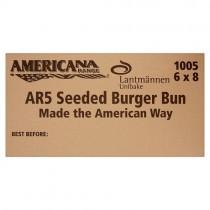 Americana 5'' Seeded Burger Bun