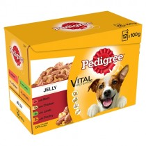 Pedigree Pouches in Jelly