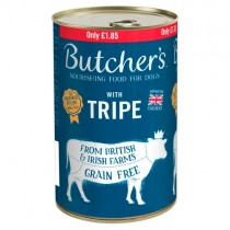 Butchers Tripe 1.2kg PM £1.85