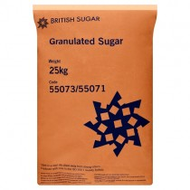 British White Sugar  25kg