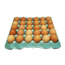 The Beautiful Brown Egg Co. Large Eggs 30 Dozen