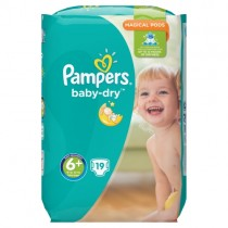 Pampers Baby Dry Size 6 19 Nappies PM £4.99