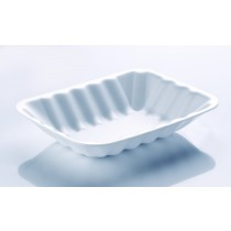 C2 Spacesaver Polyester White Chippy Tray