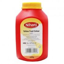 Niharti Yellow Food Colour 400g