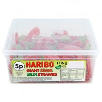 Haribo Giant Sour Strawbs PM 5p