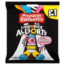 Maynards Bassetts Liquorice Allsorts PM £1
