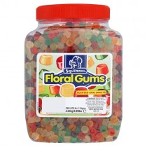 Squirrel Floral Gums