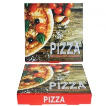 7'' Red Pizza Box