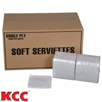 KCC 1ply Soft Serviettes Napkins