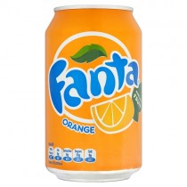 Fanta Orange Can