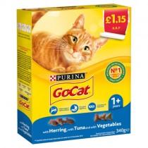 Go Cat Herring, Tuna & Vegetables PM £1.15