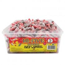 Hi Five Fizzy Cherry Cola Bottle PM 1p