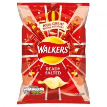 Walkers Ready Salted PM 65p