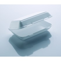 HP10TT White Kebab Fish & Chips Box