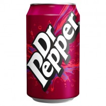 Dr Pepper 330ml PM 65p
