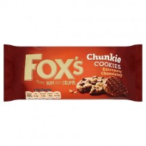 Foxs Chunkie Cookies Extremely Chocolatey PM £1.39