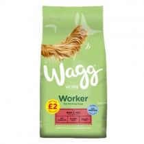Wagg Worker Beef & Veg PM £2