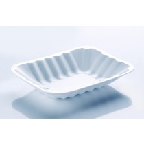 C3 Spacesaver Polyester White Chippy Tray