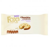 Foxs Chunkie Cookies White Chocolate PM £1.39