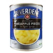 Riverdene Pizza Cut Pineapple Pieces 825g