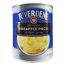Riverdene Pizza Cut Pineapple Pieces 3kg