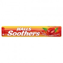 Halls Soothers Peach & Raspberry
