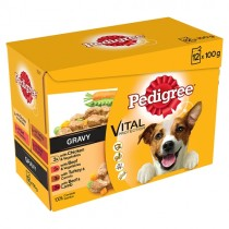 Pedigree Pouches in Gravy