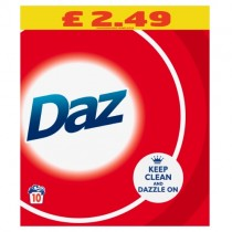 Daz Washing Powder 10 Wash PM £2.49
