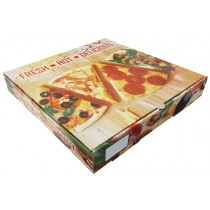 9'' Full Colour Pizza Box