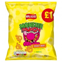 Monster Munch Roast Beef PM £1