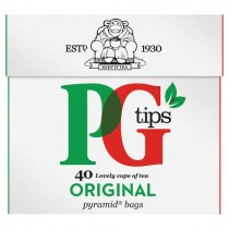 PG Tips Pyramid Tea Bags 40s PM £1.35