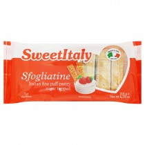 Sweet Italy Sugar Topped Puff Pastry Biscuits