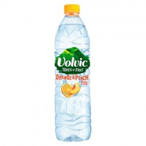 Volvic Touch of Fruit Orange & Peach 1.5lt