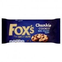 Foxs Chunkie Cookies Milk Chocolate PM £1.39