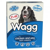 Wagg Complete Chicken & Veg 1kg PM £1.49