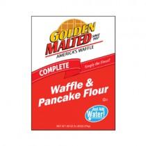Golden Malted Waffle & Pancake Flour Just Add Water