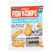 Burtons Fish n Chips Salt & Vinegar PM 39p