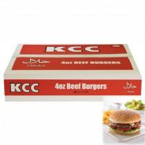 KCC Halal 4oz Beef Burger